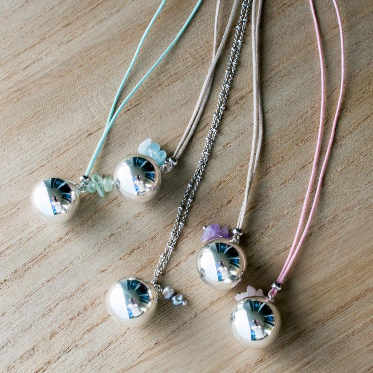 Pregnancy necklace Pearls