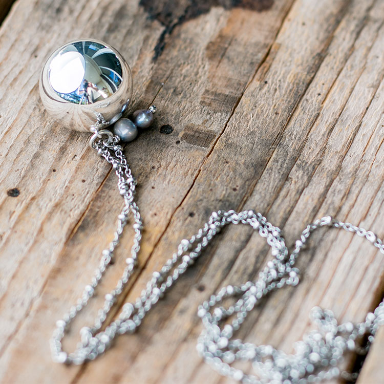 Harmony necklace Pearls
