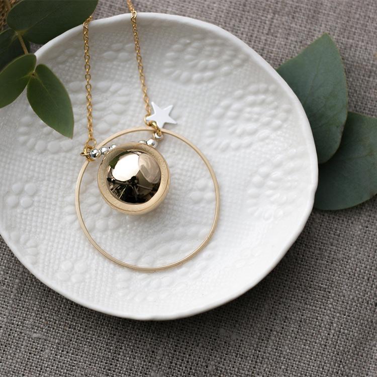 Harmony ball necklace Solal