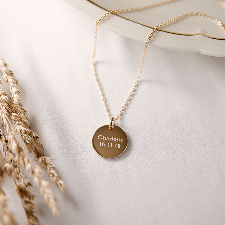 Personalised necklace Maume