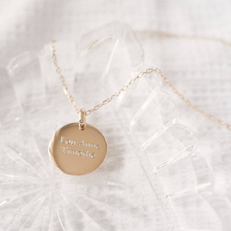 Personalised necklace Lou