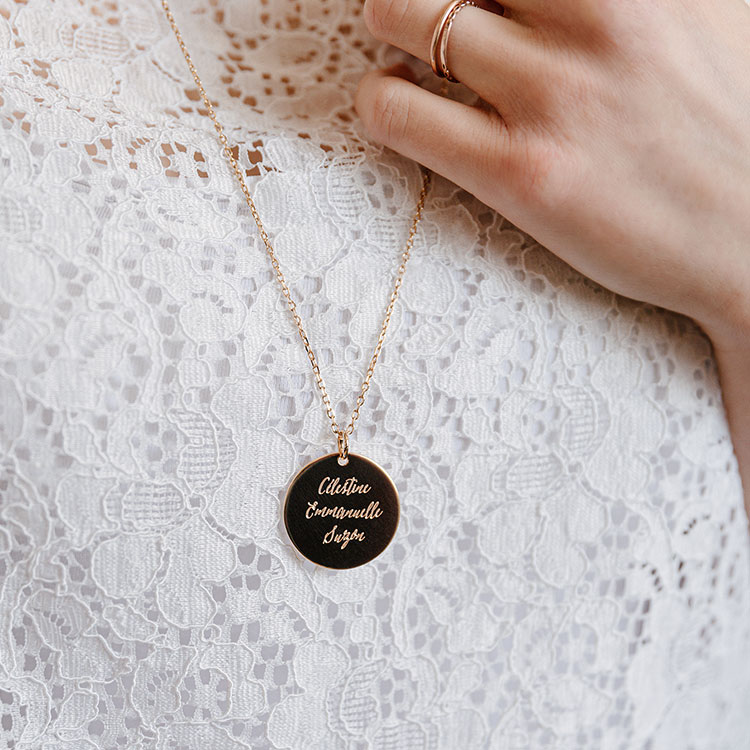 Personalised necklace Carene