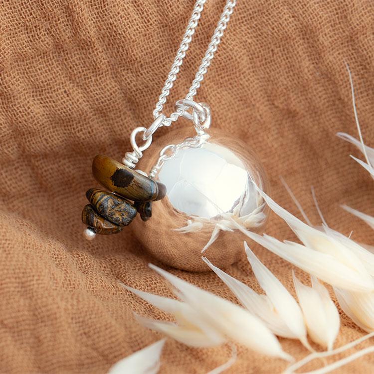 Harmony ball necklace Elsa