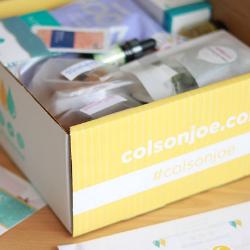 Colson and Joe pregnancy box