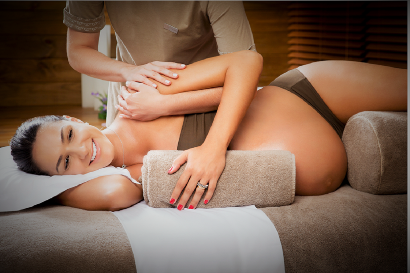 Massage mom to be